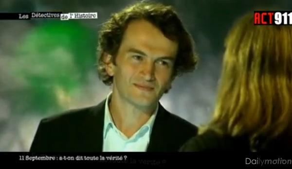 Guillaume Dasquié dans l'émission Les détectives de l'Histoire consacrée au 11 septembre 2001
